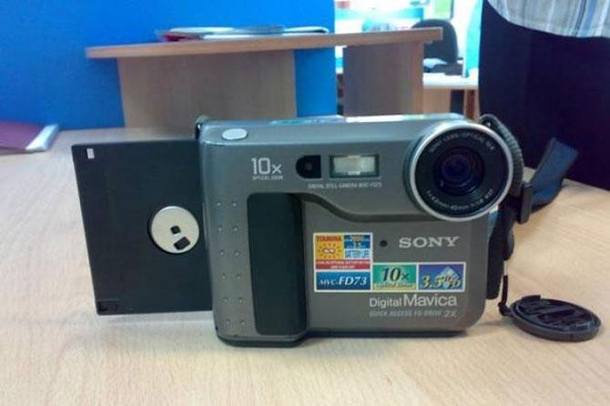 Floppi-Sony Digital Mavica MVC-FD73 3