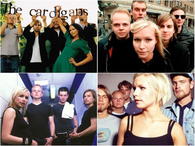 The Cardigans - новый стиль шведской музыки