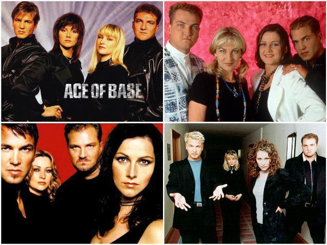 Золотой состав Ace of Base