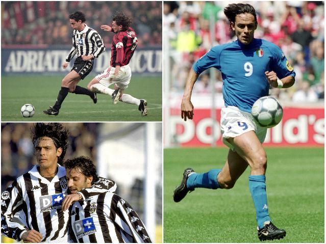 Звезды сборной Италии - Индзаги