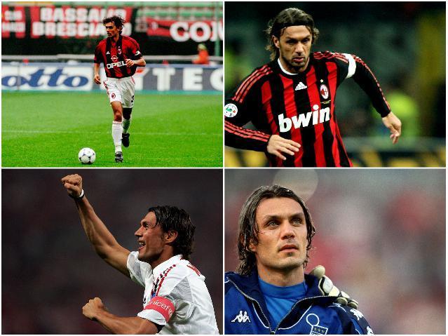 Звезды сборной Италии - Мальдини