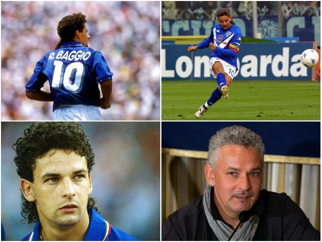 Звезды сборной Италии - Баджо