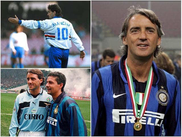 Звезды сборной Италии - Манчини