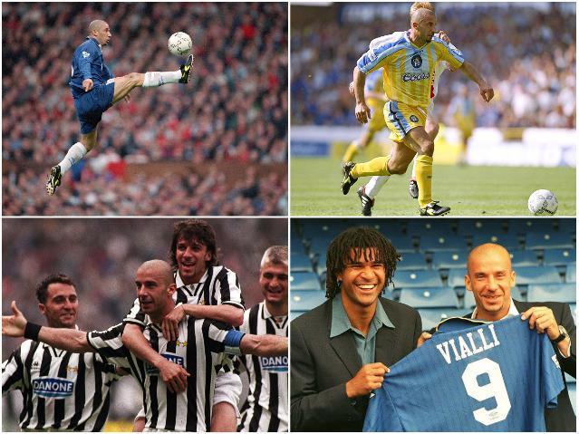 Звезды сборной Италии - Виалли
