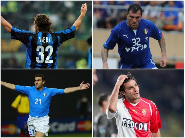 Звезды сборной Италии - Вьери