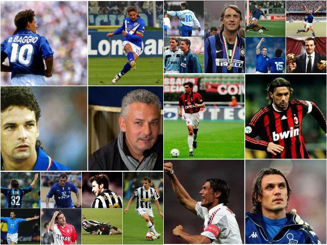Звезды сборной Италии