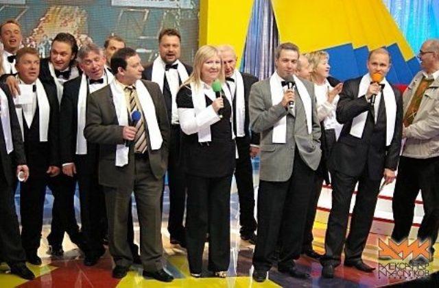 Победители КВН - Одесские джентльмены