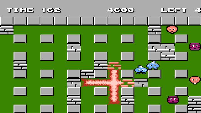 Популярные игры  на Денди - bomberman