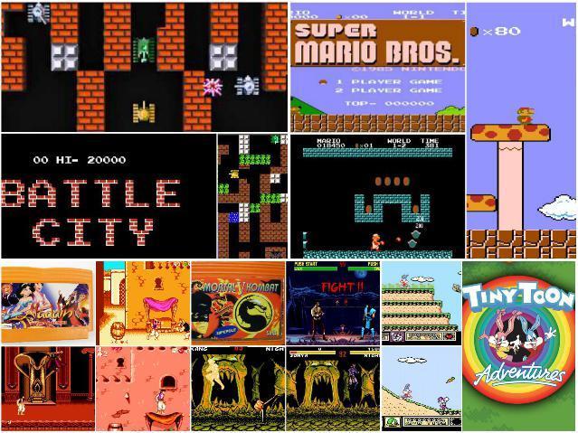 Популярные игры на Денди