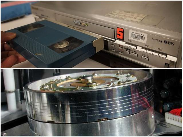 VHS и видеомагнитофоны