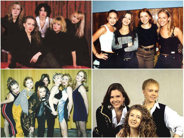 Российские женские поп-группы 90-х
