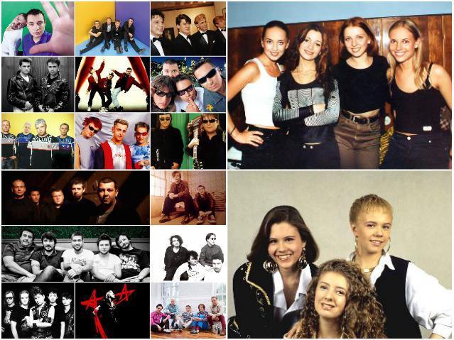 Российские группы 90-х