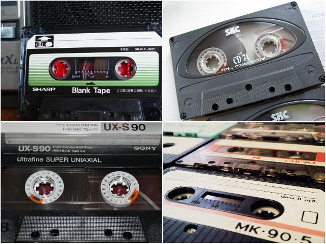 Аудиокассеты 90-х годов