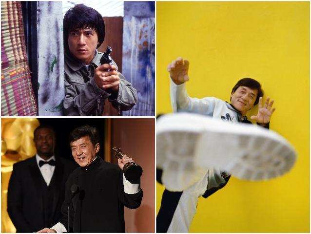 Мастера боевых искусств - Джеки Чан
