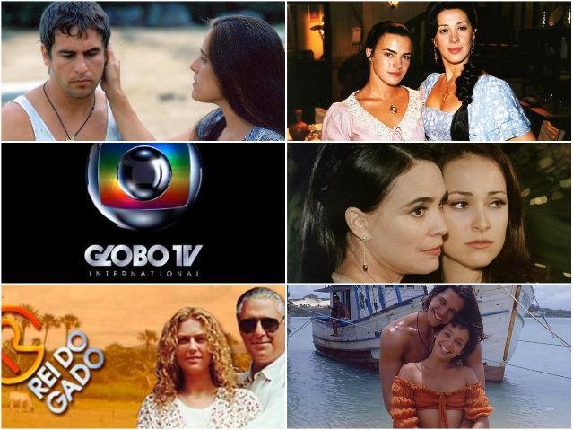 Globo - список популярных сериалов