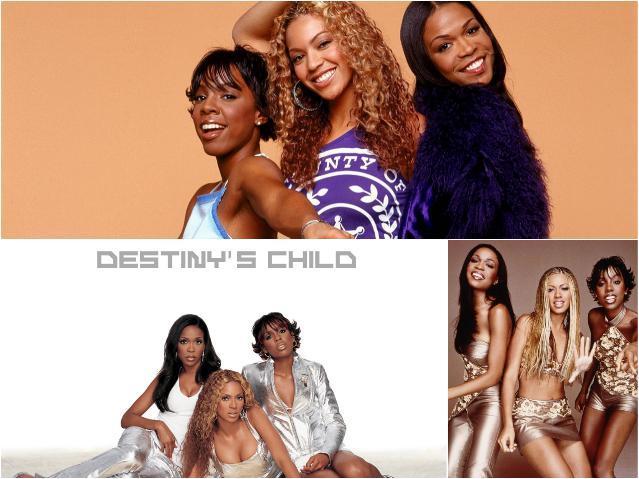 Зарубежные женские группы - Дестинис чайлд