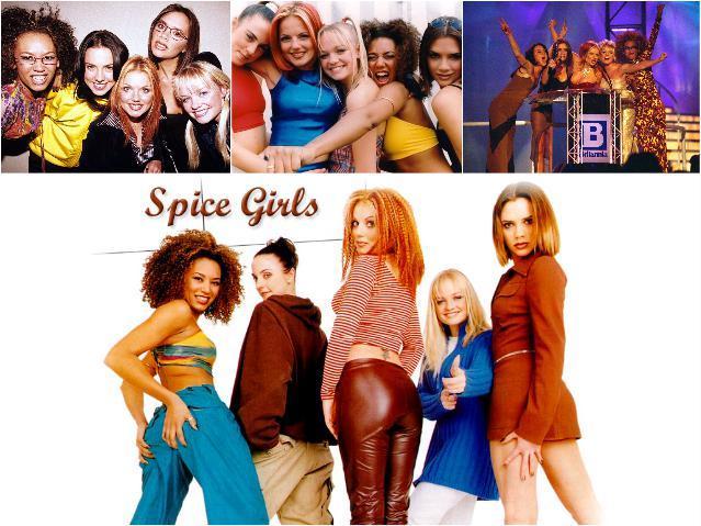 Зарубежные женские группы - Спайс Герлс