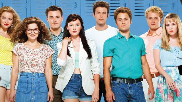 Молодежные сериалы 90-х - Беверли-Хилз 90210