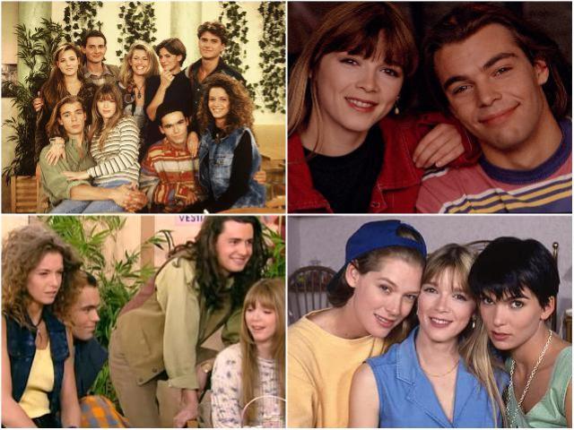 Молодежные сериалы 90-х - Элен и ребята