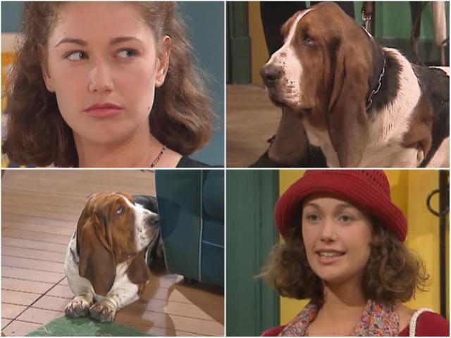 Молодежные сериалы 90-х  - Карин и ее собака