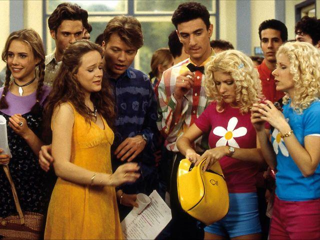 Молодежные сериалы 90-х - Первые поцелуи