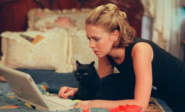 Молодежные сериалы 90-х - Сабрина-маленькая ведьма