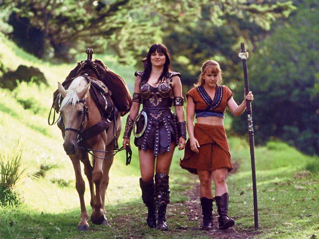 Молодежные сериалы 90-х - Зена королева воинов