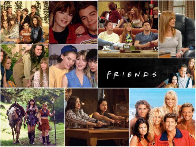 Молодежные сериалы 90-х