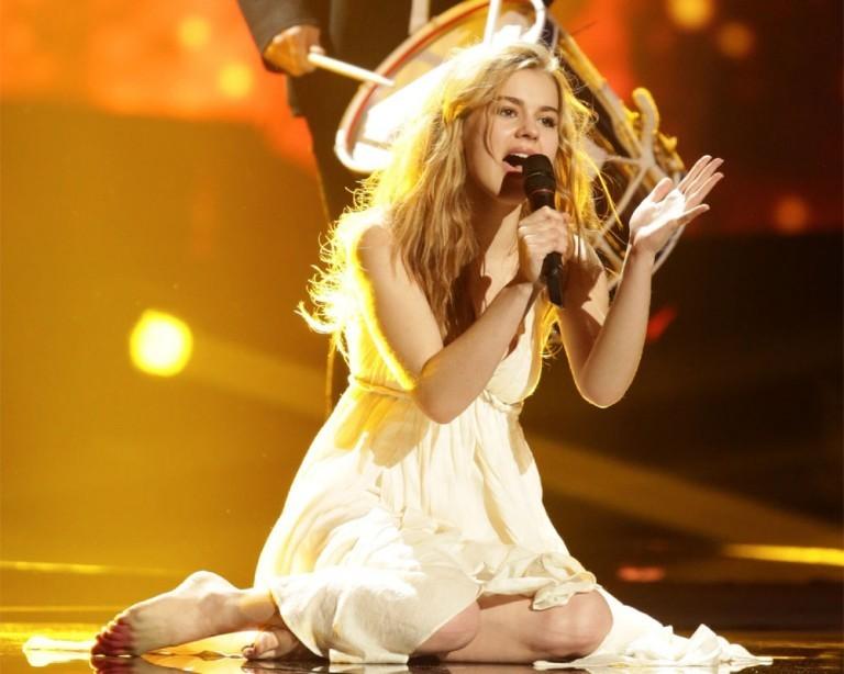Датская певица Эммили де Форест