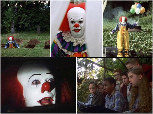 кадры из фильма оно 1990 года