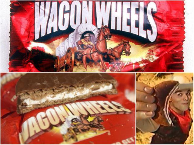 Индеец в рекламе Wagon Wheels