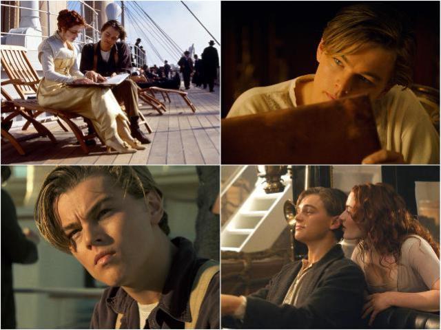 """Лео в """"Титанике"""""""