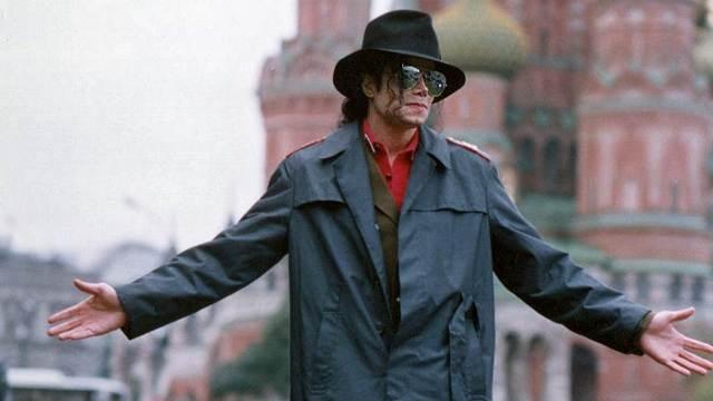 Майкл в Москве. Сентябрь 1993 г.