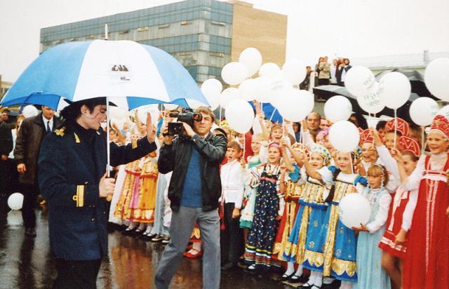 Майкл Джексон в Москве. 1996 год