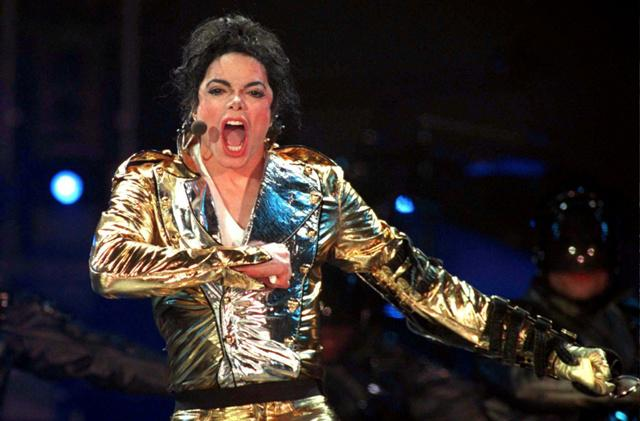 Выступление Майкла в Москве. 1996 год.
