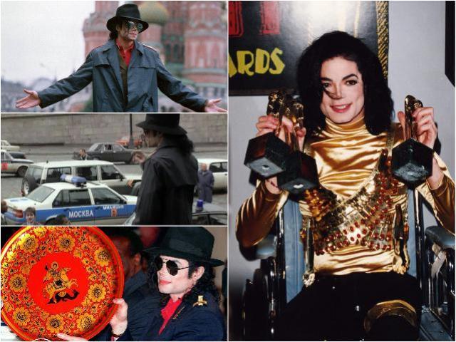 Концерты Майкл Джексона в Москве