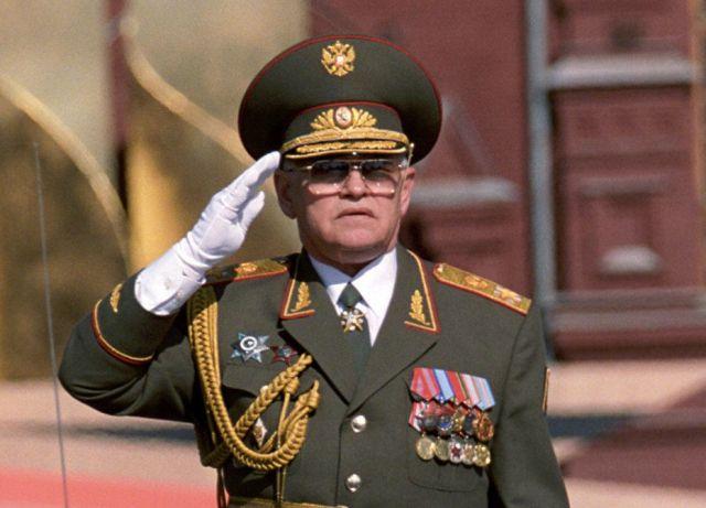 Министр обороны - Сергеев