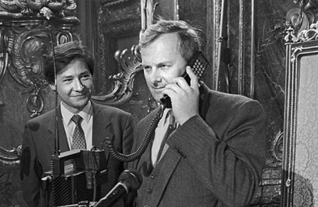 Историческое событие в сотовой связи
