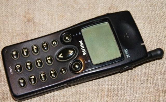 Телефон фирмы Филипс 90-х годов