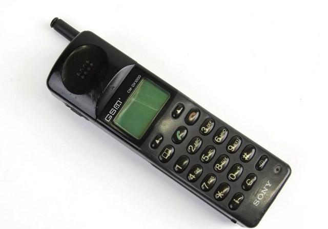 Телефон фирмы Сони 90-х годов