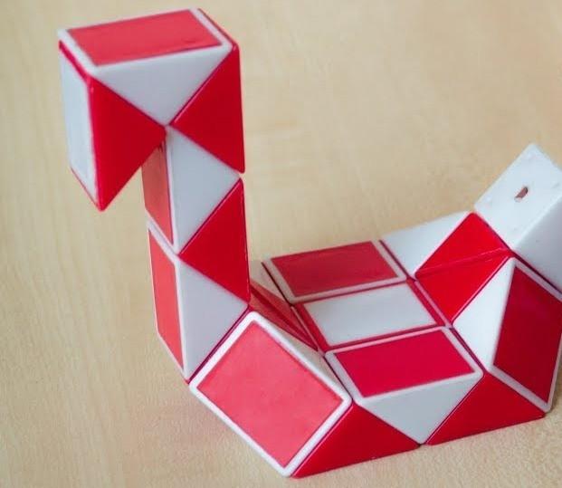 Змейка Рубика -уточка