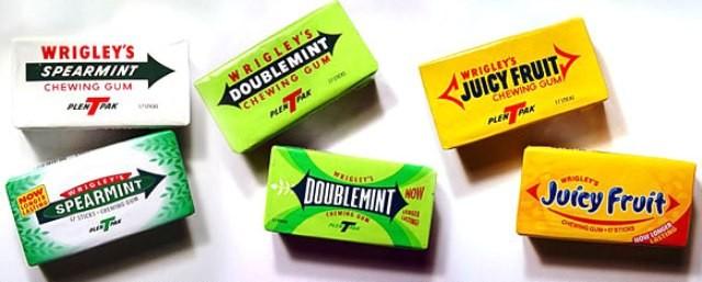 Wrigleys-Spearmint-doublemint- коллекция