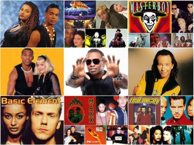 Евродэнс 90-х