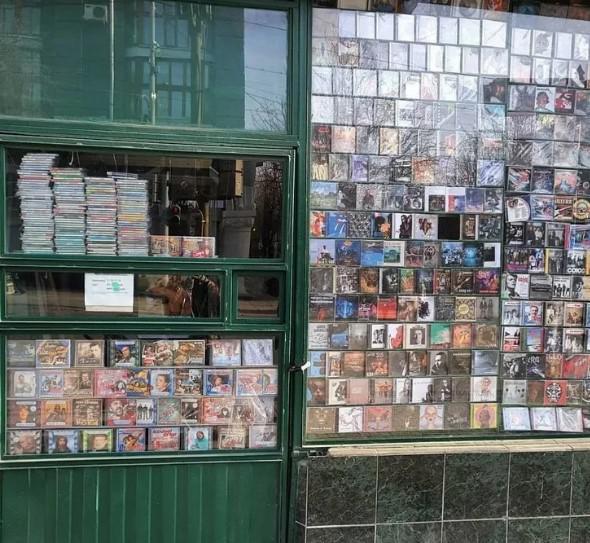 Музыкальный ларек 90-х