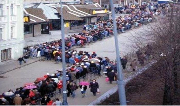Как прошло открытие McDonald's