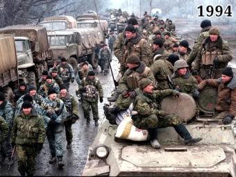 Ввод российских войск в Чечню. Штурм Грозного