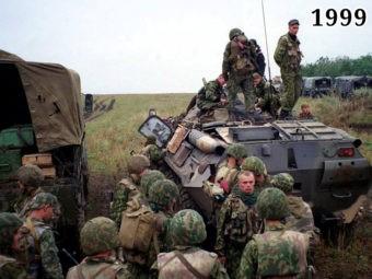 Вторжение группировки террористов в Дагестан