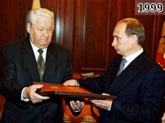Обращение президента Ельцина к народу и объявление об отставке