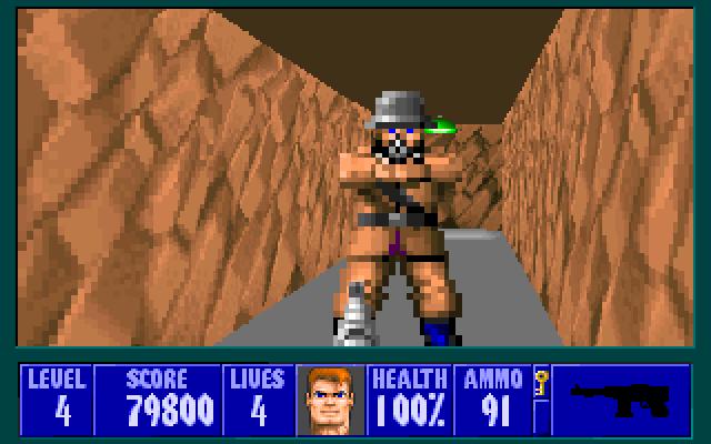 Wolfenstein 3-D (1992)