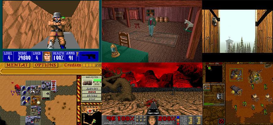 Самые известные компьютерные игры 90-х